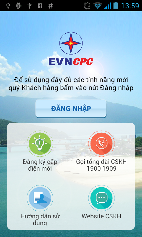 EVNCPC CSKH- screenshot