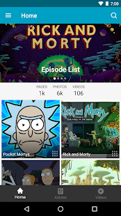 FANDOM for: Rick and Morty - náhled