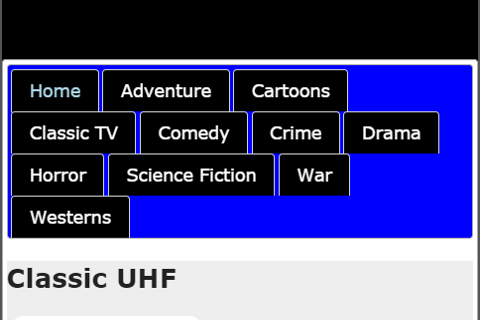 Classic UHF - Movies and TV 2.4 screenshots 1