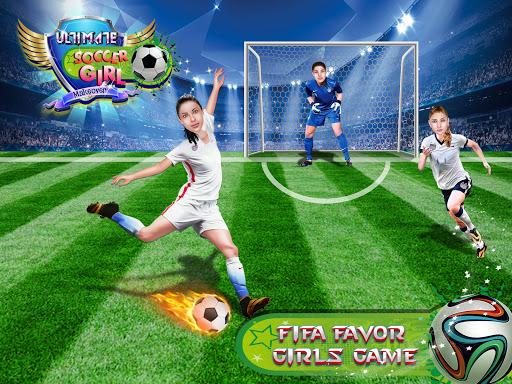 Ultimate Soccer Girls Makeover Salon 10.0 screenshots 1