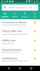 MDCalc Medical Calculator App Download For Android and iPhone 6