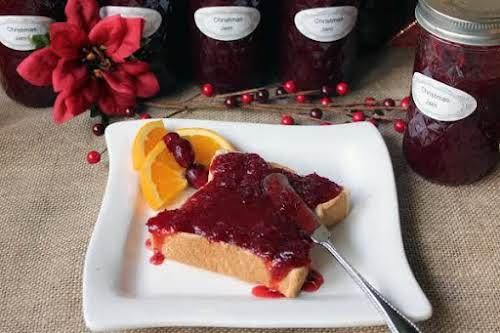 """Click Here for Recipe: Alice's Christmas Jam """"This is the second year..."""