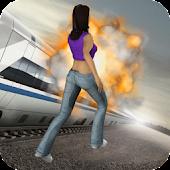 Subway Track Run