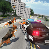 Police Dog Chasing: Crime City Simulator