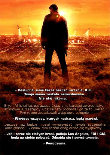 Tył ulotki filmu 'Uprowadzona 3'