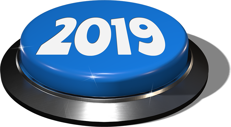 2019 Blue Button