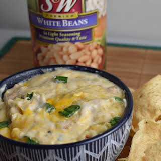 Skillet White Bean, Chicken & Cheese Dip With S&W Beans.