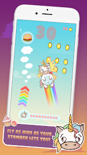 Fat Unicorn 🦄: Winged Pony Adventure Heavens Screenshot
