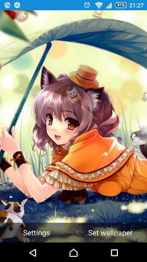 Neko Anime Girls LWP