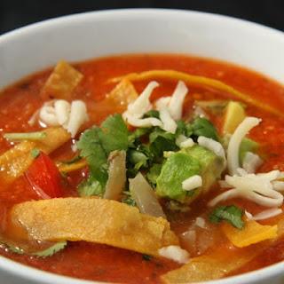 Full Moon Cafe Tortilla Soup