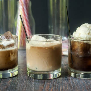 Boozy Root Beer Float 2 ways.