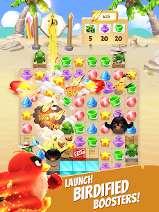 Angry Birds Match MOD Apk 4.0.0 (Unlimited Money) 8