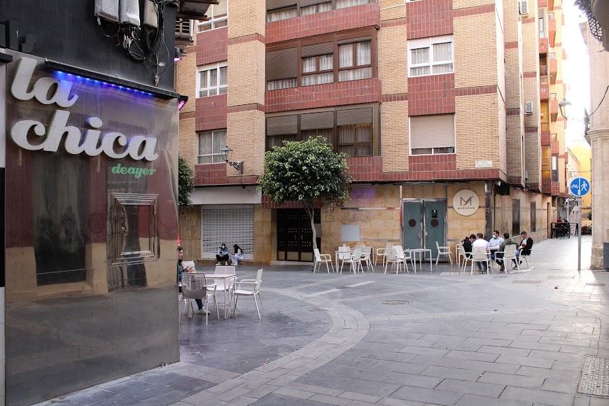 Hostelería en calle San Pedro.
