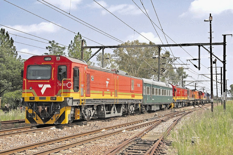 The R54.5bn price tag for the locomotives was much higher than the original estimates of R38.6bn, with allegations of Gupta-linked corruption. Picture: ANDRE KRITZINGER.