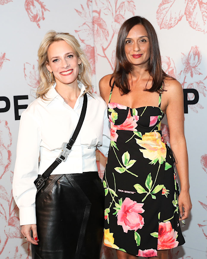 Tracy Margolies and Roopal Patel
