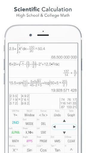 Graphing Calculator (X84) 2.0 screenshots 2