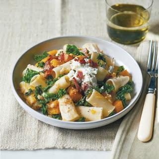 Rigatoni with Kale and Butternut Squash Recipe