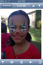 Photo: Clown face painting by Raelynn, Azusa, Ca. Call to book her today! 888-750-7024