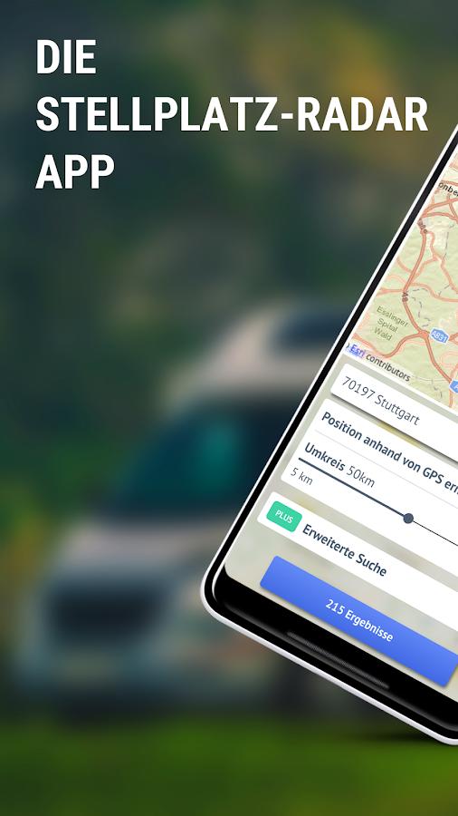 stellplatz radar android apps on google play. Black Bedroom Furniture Sets. Home Design Ideas