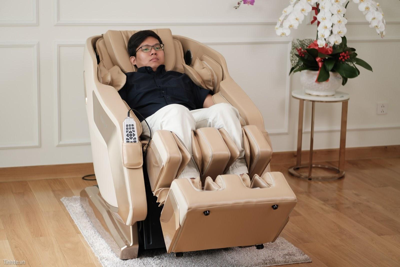 Những thời điểm không nên sử dụng ghế massage