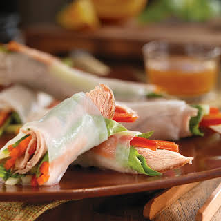 Vietnamese Spring Rolls with Slow-Cooked Pork.