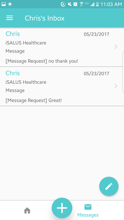 MyMedicalLocker- screenshot