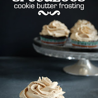 Cookie Butter Frosted Cupcakes