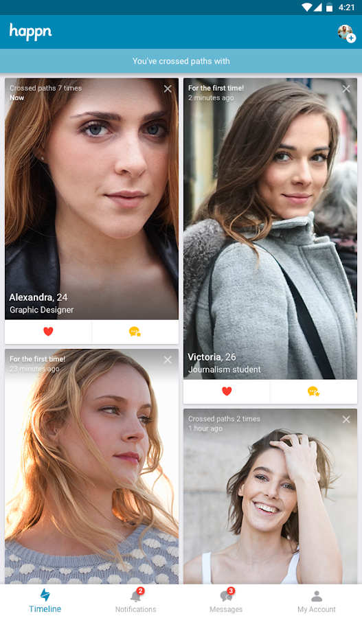 cross my path dating app