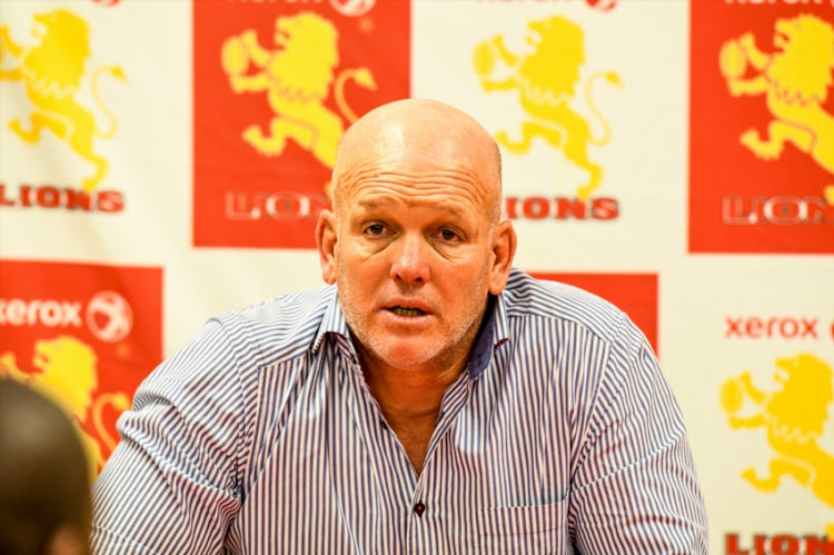 Coach John Dobson of Western Province and Captain Chris Van Zyl of Western Province during the Currie Cup match between Xerox Golden Lions and DHL Western Province at Emirates Airline Park on September 15, 2018 in Johannesburg, South Africa.