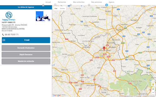 IMMOBILIER HAPPY-IMMO - LILLE- screenshot thumbnail