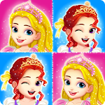Princess memory game for girls Icon