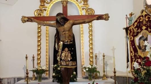 La imagen del Cristo del Bosque, principal culto en Los Filabres