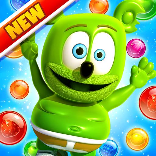 Gummy Bear Bubble Pop - Kids Game Icon