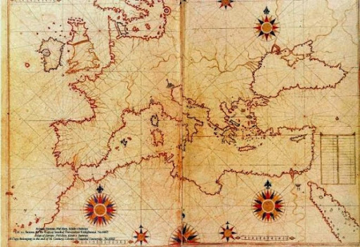 Great enigma humanity Piri Reis Map