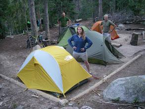 Photo: North St. Vrain campsite.