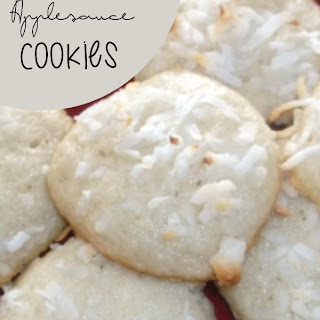 Coconut Applesauce Cookies