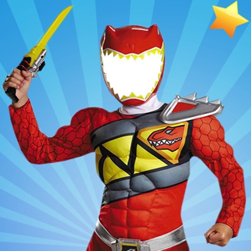 Rangers Costume Photo Editor - Superhero Mask