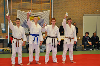 Photo: Jochem, Jelle, Jens, Tom