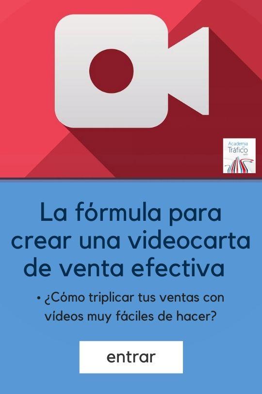 La fórmula para crear una video carta de venta efectiva