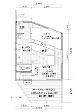 Photo: 見取り図 1F planimetric map 平面图