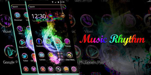 Neon Music theme for PC