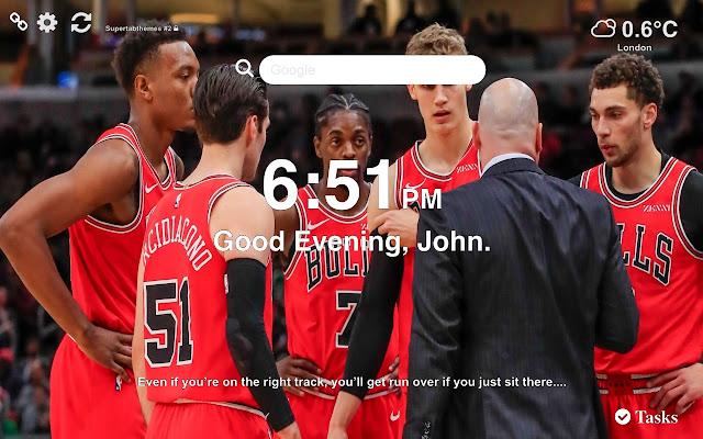 Chicago Bulls NBA Wallpapers New Tab