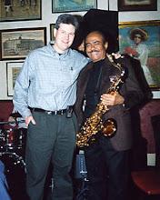 Photo: Jim Wadsworth & Benny Golson - Milan Freeman, photographer