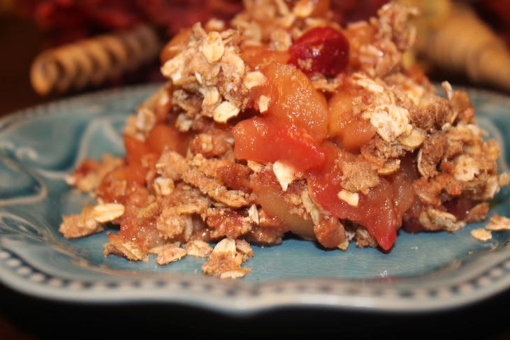 Cranberry Apple Crisp (Sugar Free, Low Fat,THM-E) Recipe