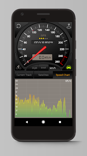 Speedometer GPS 3.7.63(googlemap) screenshots 2