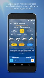 Météo Bordeaux- screenshot thumbnail