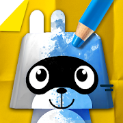App Icon for Pango Paper Color - colouring book game for kids App in United States Play Store