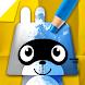 パンゴペーパーカラー - 子供向けの塗り絵ゲーム