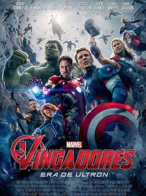 Filme Poster Vingadores - Era de Ultron HDRip XviD Dual Audio & RMVB Dublado ou Legendado