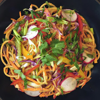 Chilled Noodles in a Spicy Sauce